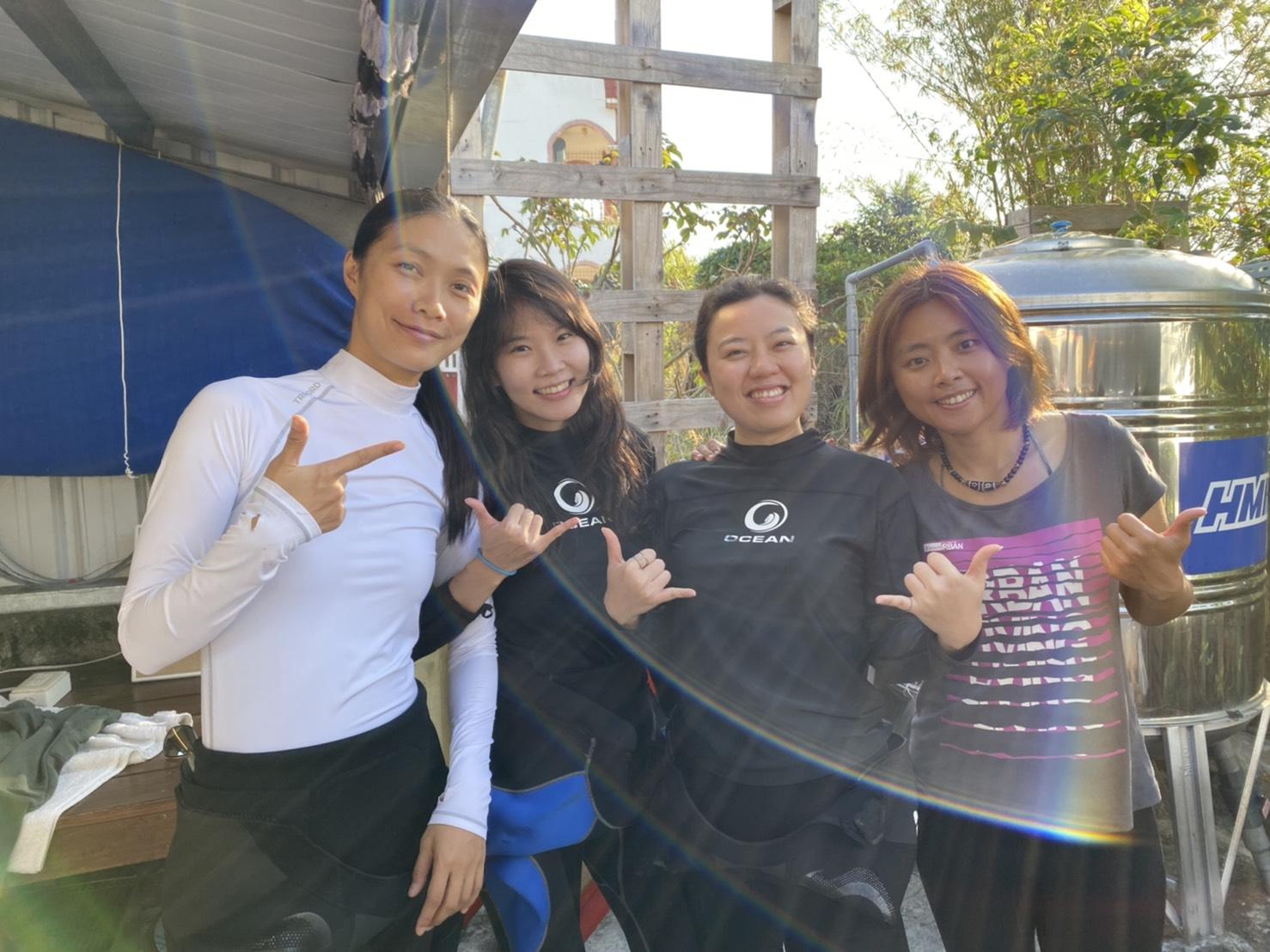 墾丁女教練 English speaking diving instructor in kenting 墾丁潛水 台灣潛水 潛水考證 墾丁船潛
